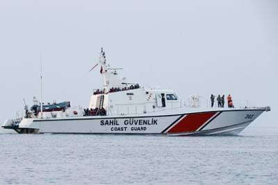 Береговая охрана Турции обстреляла катер Кипра