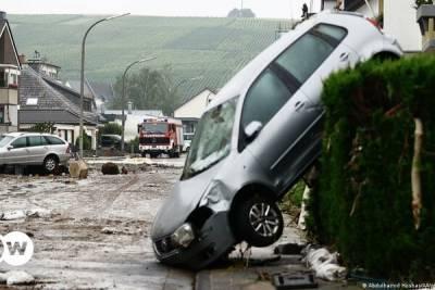 Наводнение в Германии. 103 человека погибло, сотни пропали без вести