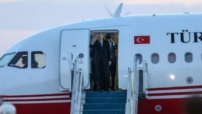 Эрдоган отправился с визитом на север Кипра