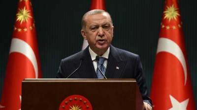 Эрдоган выступил за урегулирование конфликта на Кипре на основе двух государств