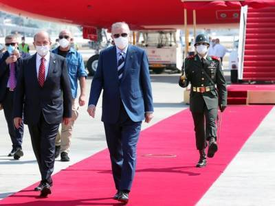Эрдоган прибыл на север Кипра и успел разочаровать турко-киприотов