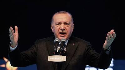 Эрдоган выдвинул условия по урегулированию ситуации на Кипре