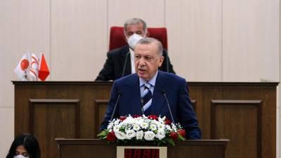 Эрдоган - за два государства на Кипре