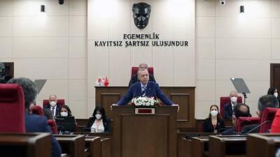 Эрдоган назвал возможным для Кипра войти в НАТО только при согласии Турции
