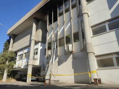 Полиция ищет организаторов поджога в суде Лимассола