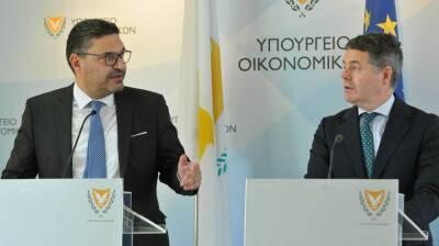 Глава Еврогруппы высоко оценил экономическое восстановление Кипра от коронавирусного кризиса