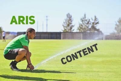 Футбольный «Арис» заговорил по-русски!