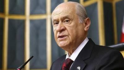 Кипр будет расчленён — Девлет Бахчели