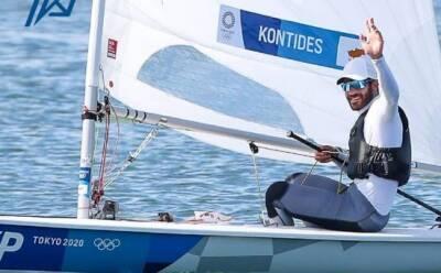 Павлос Контидис лидирует в турнирной таблице Олимпиады