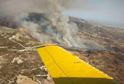 Пожар между деревнями Келокедара и Трахипедула — месть полиции за штрафы на дорогах Кипра?