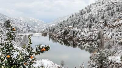 Кипр пытается развивать зимний туризм, для чего построит рождественскую деревню