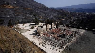 Лесной пожар на Кипре удалось взять под контроль