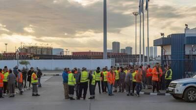 Департамент труда Кипра не смог остановить забастовку в порту Лимасола