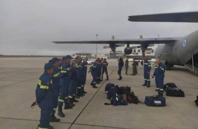 Кипр отправил пожарных на помощь Греции