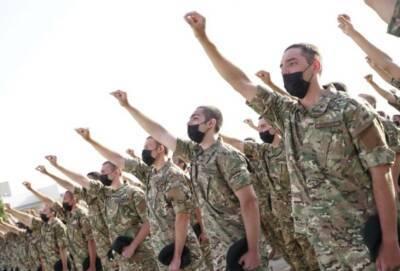 Из-за жары призывники Нацгвардии Кипра принесли присягу рано утром