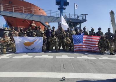 В Лимассоле прошли совместные американо-кипрские военные учения