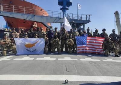 Совместные американо-кипрские учения в районе порта Лимассола (ФОТО)