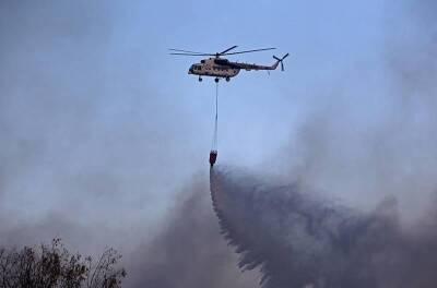 Большой пожар в Арменохори, Лимассол, теперь полностью под контролем