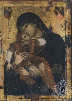 Афонские иконы Пресвятой Богородицы. Часть 2