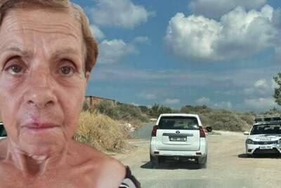 Пропавшую в Лимассоле пожилую женщину нашли мертвой