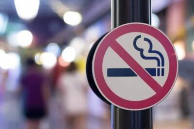 Штраф за курение в запрещенных местах увеличится до 300 евро