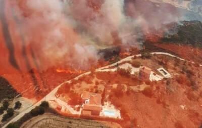 Сильнейший пожар в районе Пафоса был неслучайным. Власти не исключают поджог