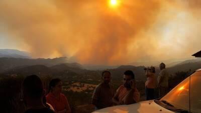 Из-за сильного ветра на Кипре объявлена высокая пожароопасность