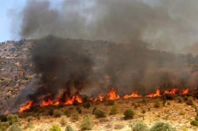 Новый пожар в Струмби