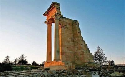 Святилище, разрушенное землетрясениями