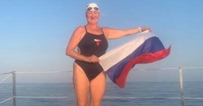 Калининградка приняла участие в заплыве на 100 км от Турции до Кипра