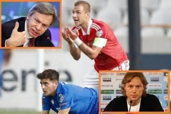 Игру сборной России назвали «убогой и надоевшей» несмотря на победу над командой Кипра