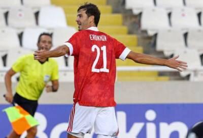 Россия обыграла Кипр в гостях в футбол