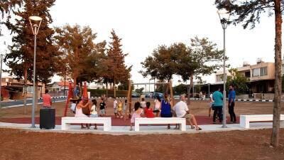 В Пафосе прошло открытие парка «Морфос»
