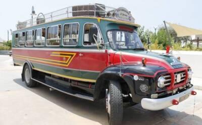Фестиваль ретро-автобусов в Какопетрии