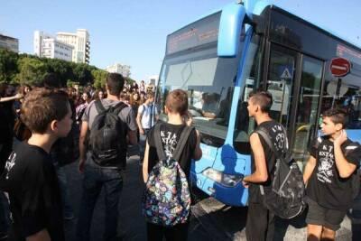 На Кипре в школьный автобус не пустили ребенка